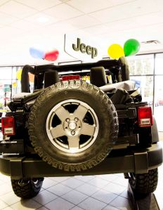 2013 Jeep Wranger Basic Spare Tire cropped