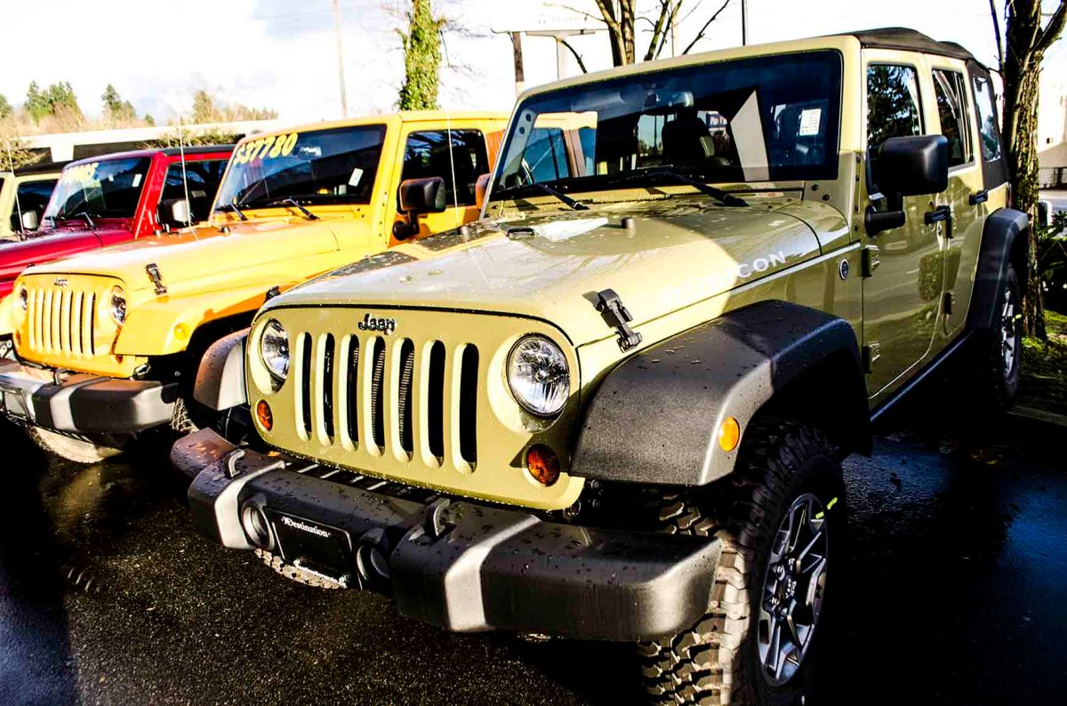 5 Reasons Why You Gotta Love The 2013 Jeep Wrangler