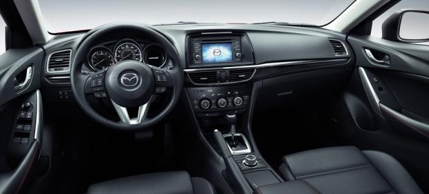 2014 Mazda6 dashboard