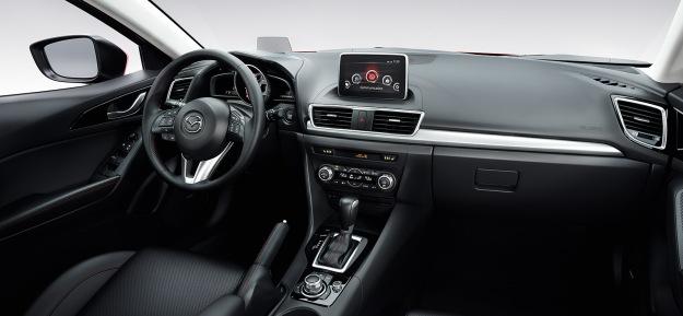 2014 Mazda3 dash - Destination Mazda Vancouver