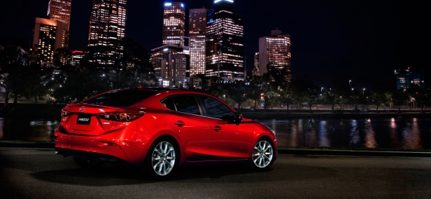 2014 Mazda3 night - - Destination Mazda Vancouver