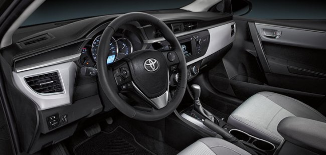 2014 Toyota Corolla interior | Destination Toyota Burnaby