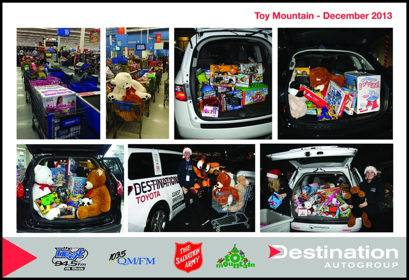 Toy Mountain | Destination Auto Group
