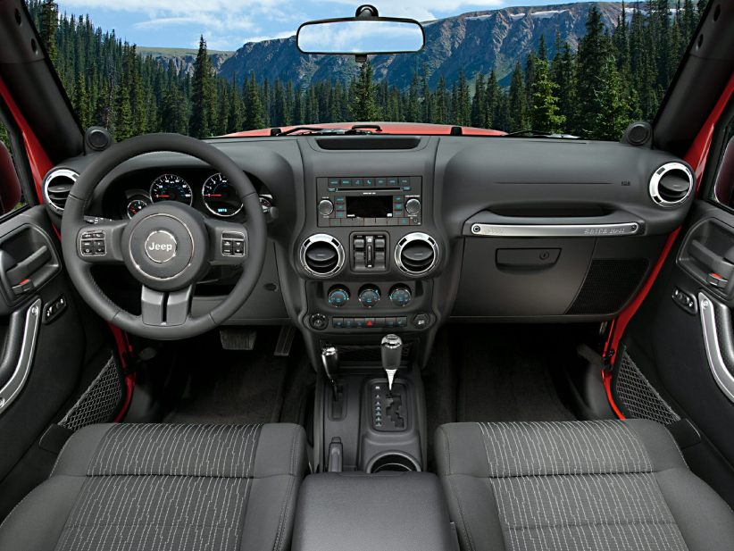 2014 Jeep Wrangler Interior
