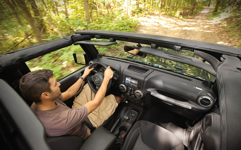 2014 Jeep Wrangler Overhead