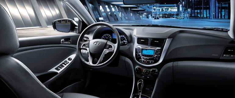 2014 Hyundai Accent Interior