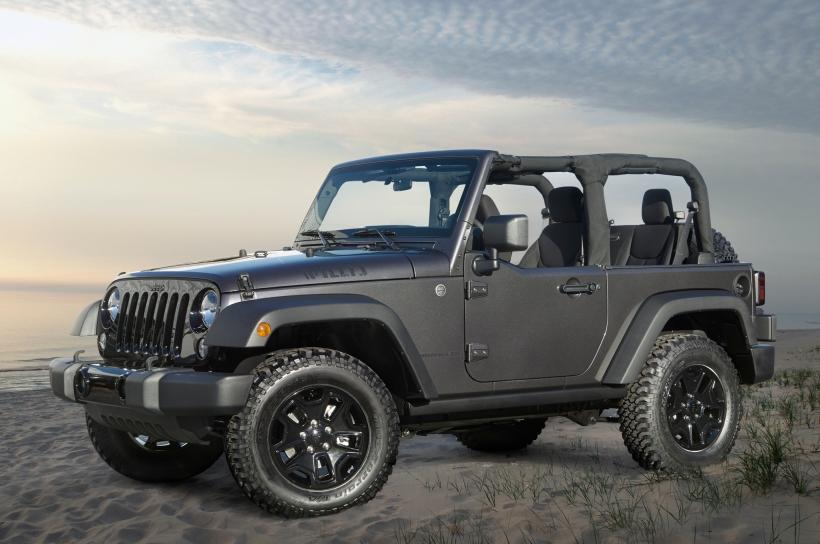 2014-jeep-wrangler-willys-wheeler-edition-front-three-quarter
