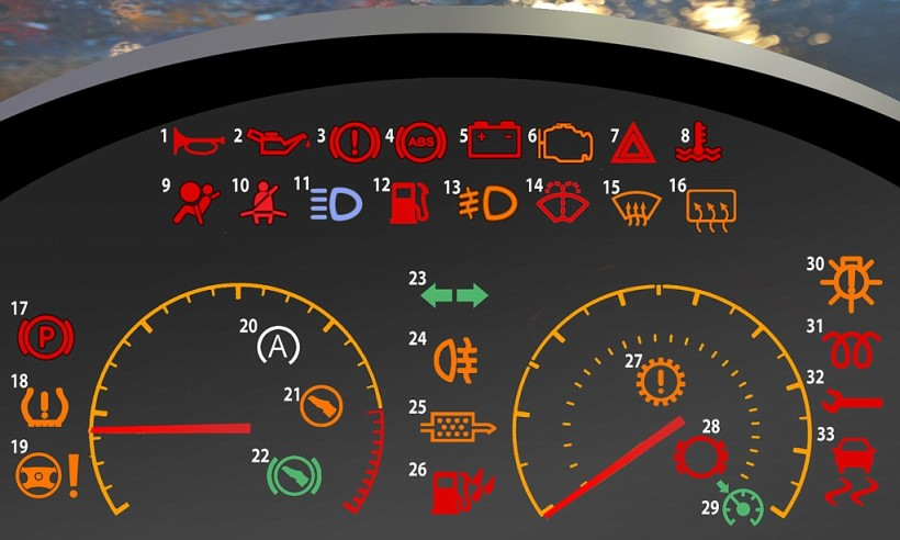 What Do The Warning Lights Mean