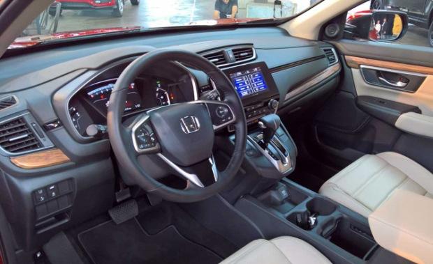 2017 Honda Cr V Debuts With Turbo Engine Standard Volume Knob
